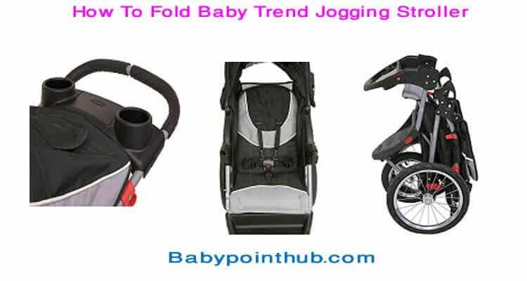 How Ho Fold Baby Trend Jogging Stroller?