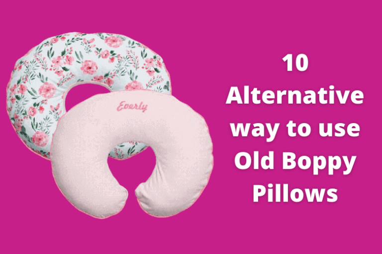 What to Do with Old Boppy Pillows?