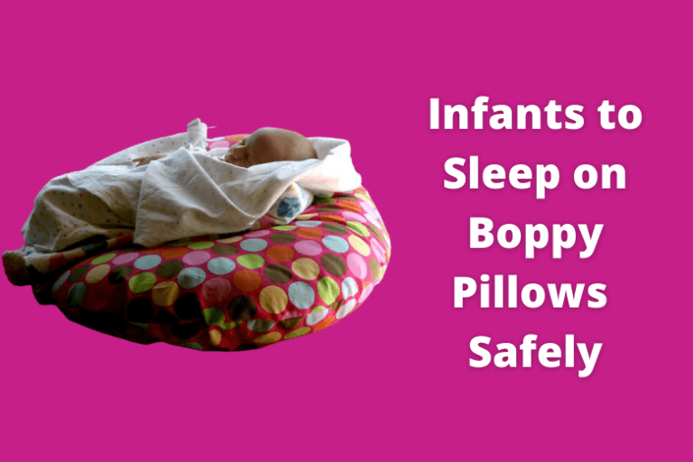 Are Boppy Pillows Safe for Infants to Sleep on?