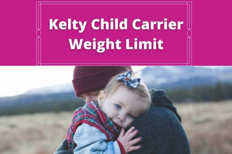 What Is the Weight Limit for Kelty Kid's Carrier?